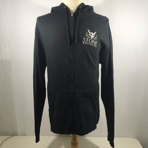 Stone Brewing Co Full Zip-up Hoodie NEW